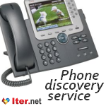 Phone discovery service